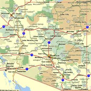 city map arizona arizona