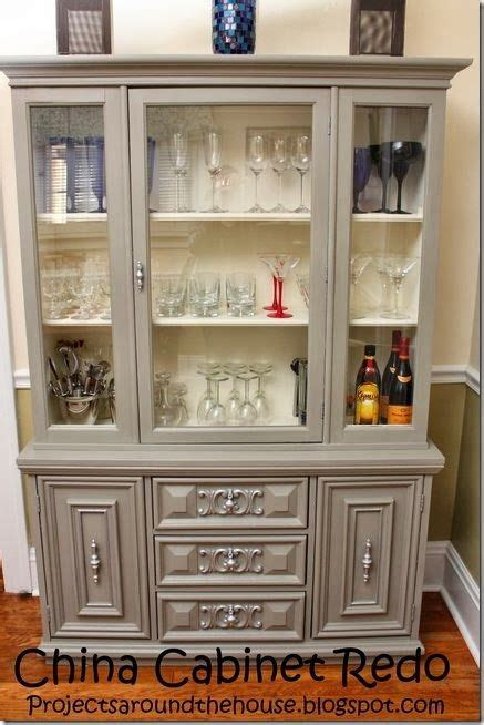 diy chalk painted china cabinet china cabinet redo with chalk paint crafty crafts home