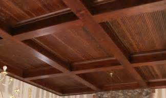 wood box beam ceiling diy