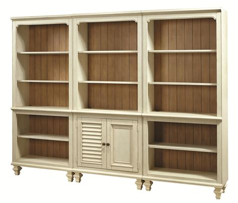 aspenhome cottonwood bookcase combination with 2 open