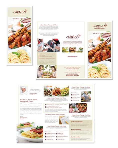 corporate event planner caterer brochure template design corporate event planner caterer tri fold brochure template