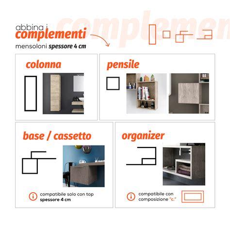 mensole per lavabo da appoggio prezzi mensola color legno naturale da 80 cm design per lavabo d