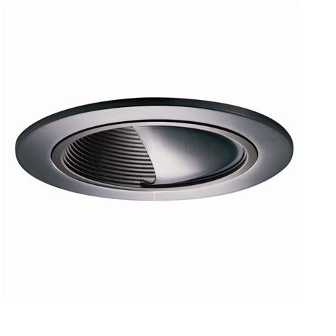 baffle trim recessed lighting installing halo recessed lighting trim home decor