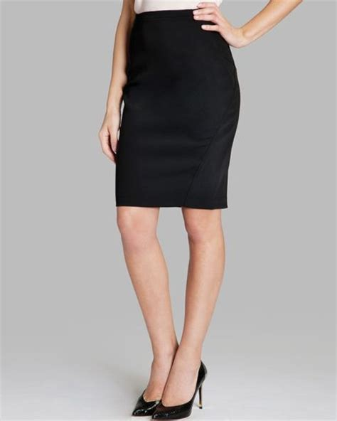 ted baker pencil skirt classic tailored in black lyst