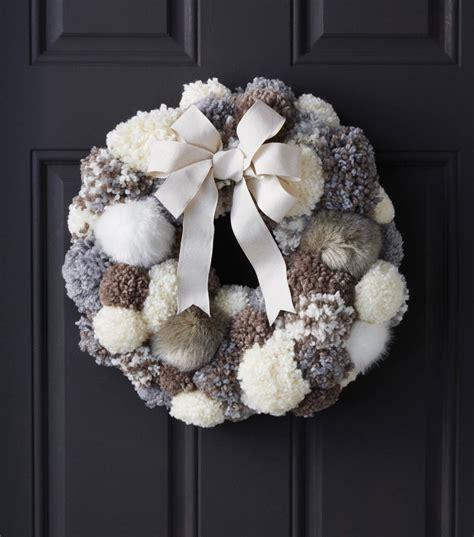 makers guide pom pom wreath joann jo ann