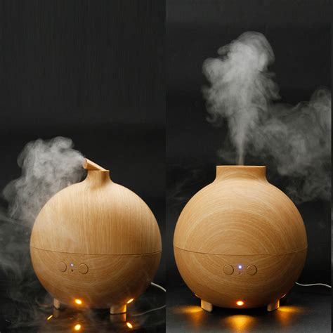 battery operated himalayan salt l spa aroma diffuser big light wood