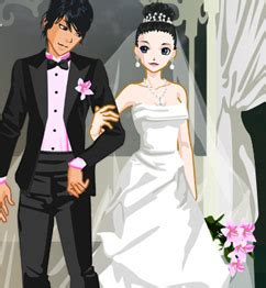 bride and groom dress up play games