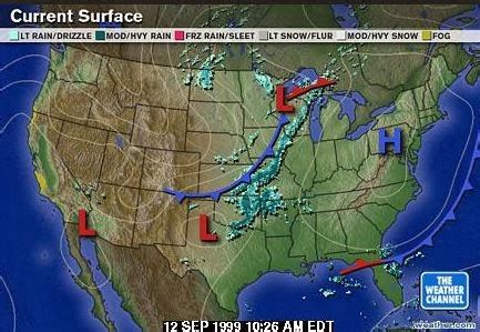the weather map of the united states regulus notes some thoughts on the weather channel