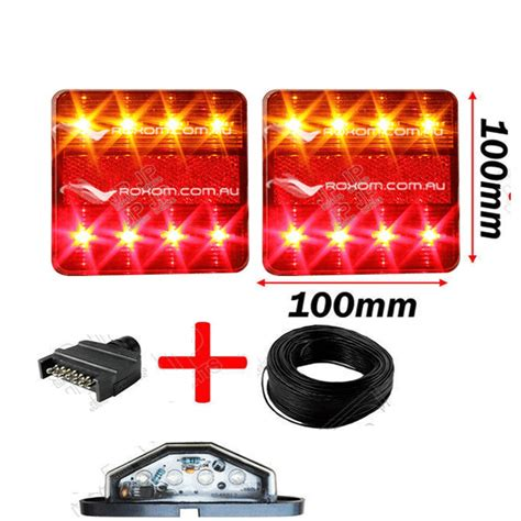 led boat trailer lights led boat trailer light kit 100 x 100 fully submersible