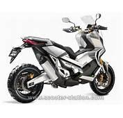 Honda City Adventure Concept 2016  Le Baroudeur Citadin Scooter