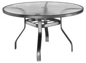 Glass Top Patio Dining Table Homecrest Glass Top 48 In Patio Dining Table Patio Dining Tables At Hayneedle