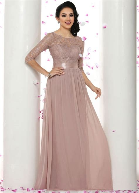 Wedding Dresses Prom Style by Best 25 Bridesmaid Dresses With Sleeves Ideas On