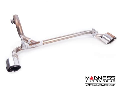 fiat 500 abarth exhaust stock axle back take