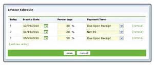invoice schedule template invoice schedule template hardhost info
