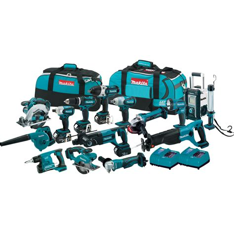 Nagita Set free shipping makita 18v lxt li ion cordless combo kit