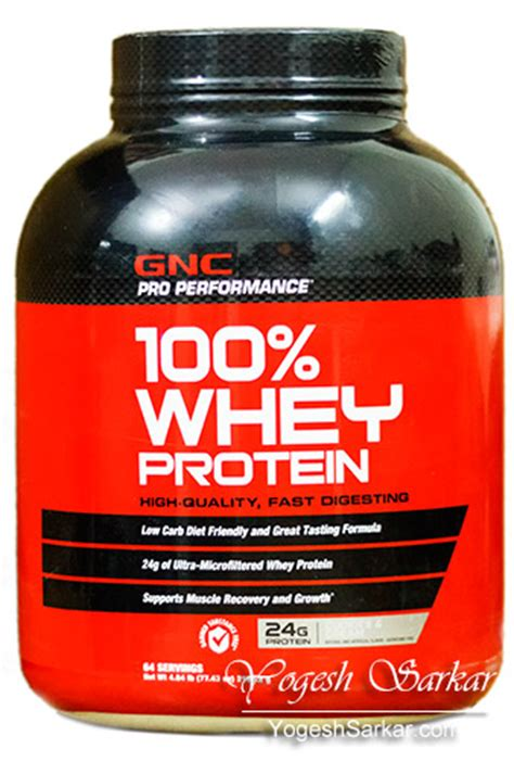 Whey Protein 2015 gnc pro performance 100 whey review yogeshsarkar