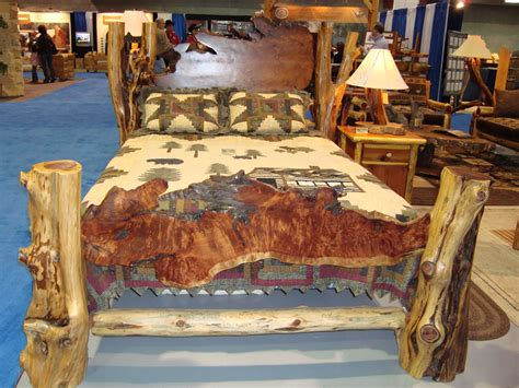cedar log bed custom unique juniper bed frames http www