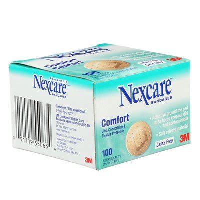 the comfort spot nexcare comfort bandages cs401 spots 100 per box
