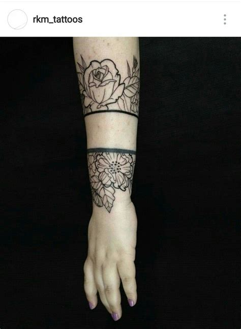cuff tattoo designs 17 best ideas about cuff on arm cuff