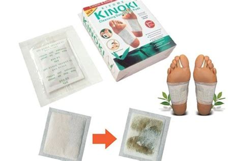 Detoxing Smells by 100pcs Light Herbal Smell Kinoki Detox Foot Patch With