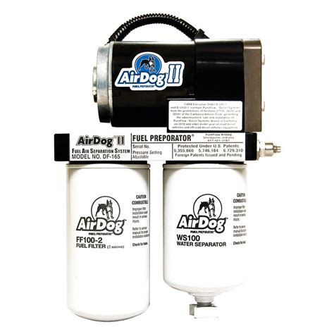 air fuel system pureflow airdog 174 dodge ram 2500 3500 cummins engine 2008 ii fuel air separation