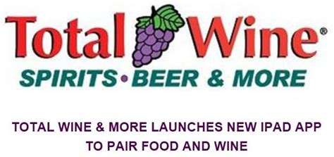 Total Wine Application Total Wine And More Application For Food And Wine