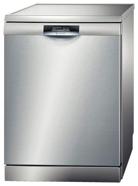 active water floor standing dishwasher silver