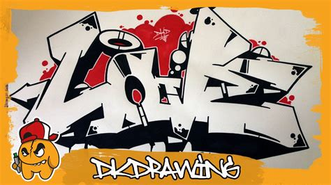 graffiti tutorial   draw graffiti love wildstyle