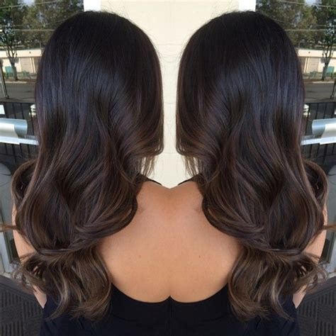 subtle ombre hair with soft waves medium ash brown hair the 25 best ideas about subtle balayage on pinterest