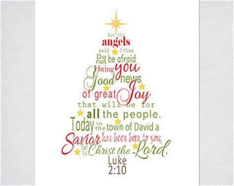 luke  bible verse christmas tree subway art instant etsy
