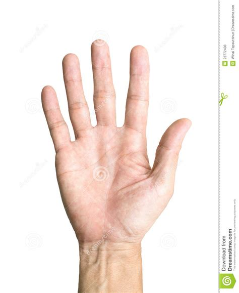 hand symbol stock photo image 23772400