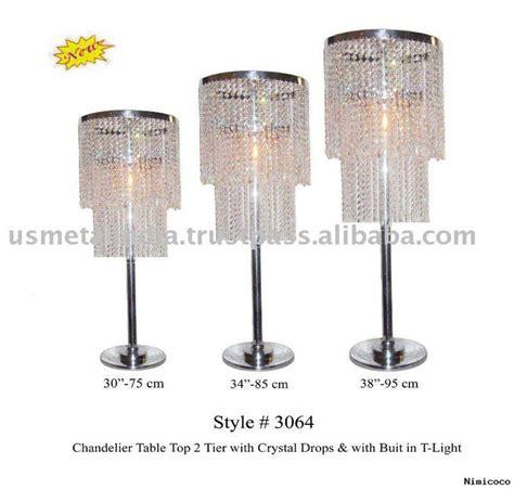 centerpiece tabletop chandelier jaime sweet 16