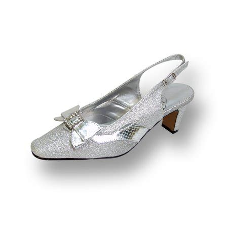 floral floral pearl s wide width evening dress shoes for wedding prom dinner silver