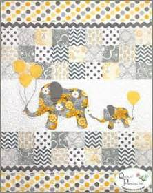 elephant quilt on elephant applique baby