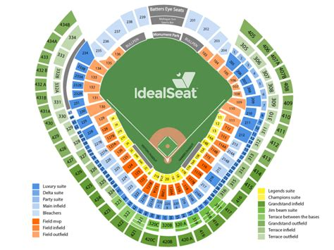 Yankee Stadium Seating Chart View Section by New York Yankees Tickets Yankee Stadium Seating Chart