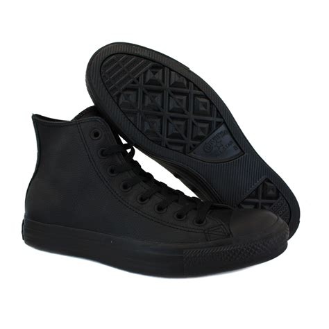 converse all leather 135251c unisex leather trainers