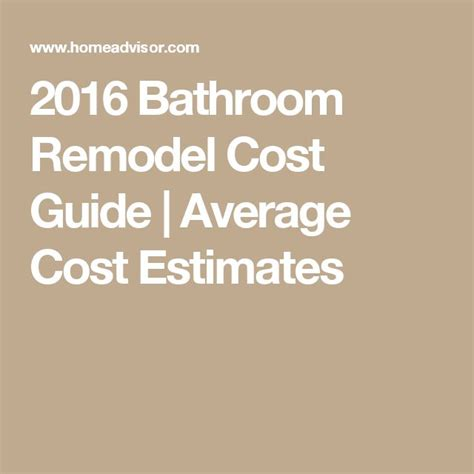 Bathroom Remodel Ideas And Cost by Best 25 Bathroom Remodel Cost Ideas On