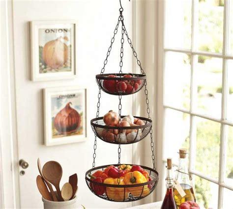 hanging fruit basket my kitchen pinterest vegetables