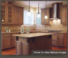 Reface Kitchen Cabinets Before And After by Kitchen Cabinet Refacing And Cabinet Refacing Products