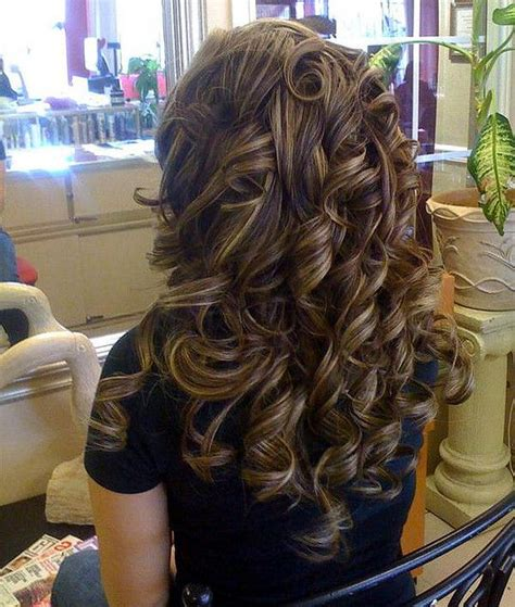 hairy curly brunette love this color and highlight wonder if there s a perm