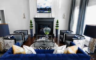 Blue Chair Living Room Design Ideas 20 Of The Best Colors To Pair With Black Or White
