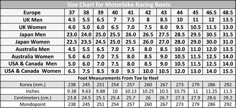 mens boot size chart mens boot width chart 28 images held s boots size