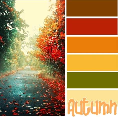 25 best ideas about autumn color palette on