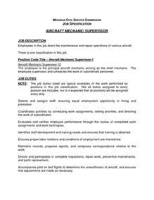 Automotive Technician Responsibilities by Aircraft Technician Resume Format