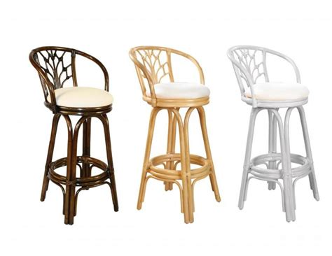 tropical style bar stools valencia wicker rattan 30 quot bar stool 24 quot counter stool