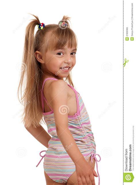 foto di ragazze in costume da bagno costume da bagno da portare della ragazza fotografia stock