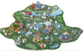 Disney World Map Of Resorts by Disney World Resort Hotels Map Viewing Gallery