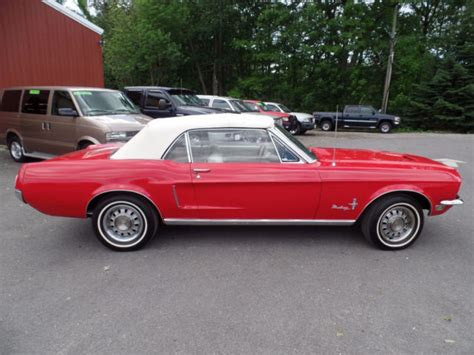 classic ford mustang convertible classic 1968 ford mustang convertible 289ci v8 3 speed