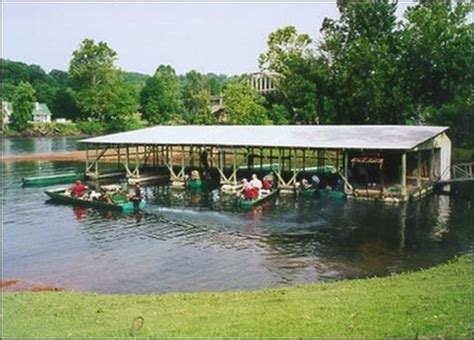 fishing boat rentals arkansas rental boats and canoes at cotter trout dock on the white
