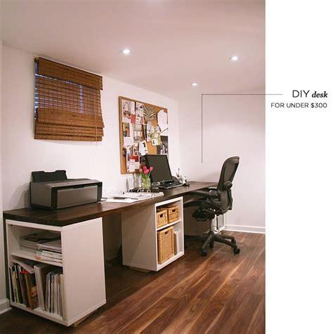 Couples Desk Indoor Remodel Diy Projects Pinterest Ikea Diy Desk